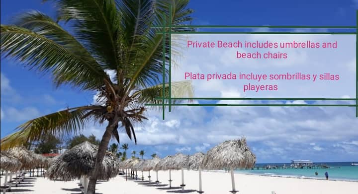 Corales Colonial ll /Private Beach