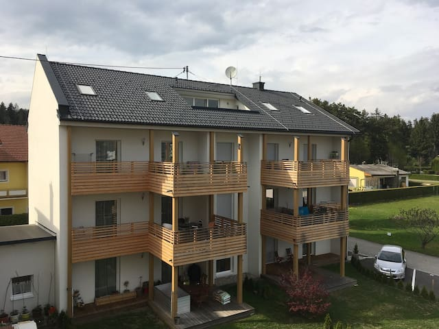 Studio-Apartment - in 3 Min. am See - Unterburg am Klopeiner See - Daire