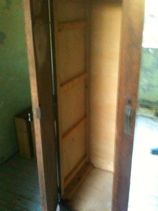 NICE OLD CLEAN CLOSET IN THE NUMBER TWO BEDROOM