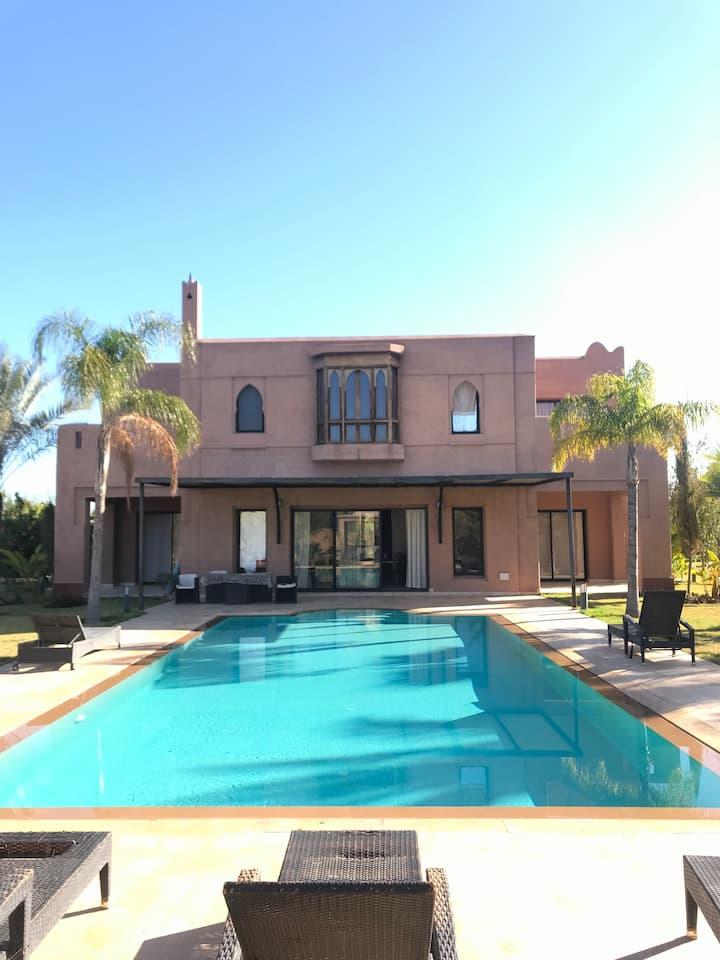 5* luxury villa Marrakech