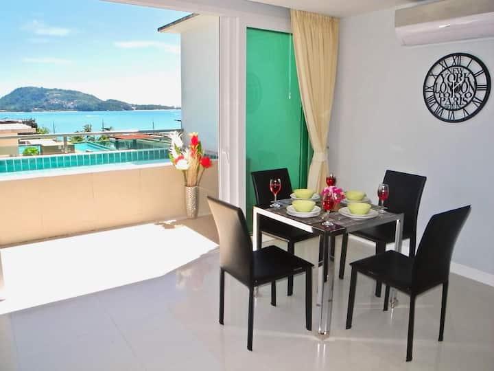 Stunning Sea Views apartment in Patong