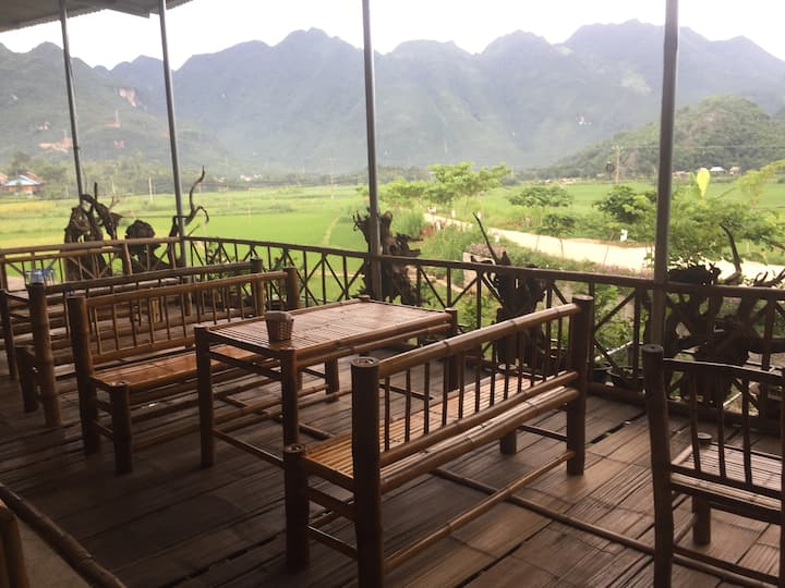 Authentic stilt house homestay - amazing view 2