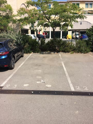 Place privée de parking
