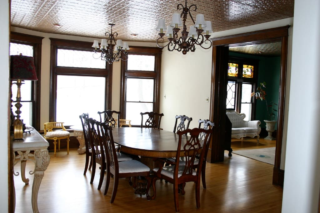 Formal dining room-Luxurious & open space for guest to gather, mingle and dine