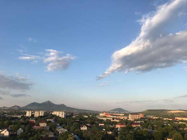 С видом на горы