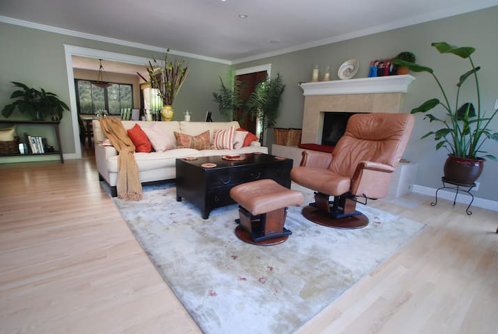Sunny Marin home near S.F., wine country, beaches - Kentfield - Rumah