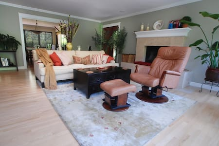 Sunny Marin home near S.F., wine country, beaches - 肯特菲尔德(Kentfield)