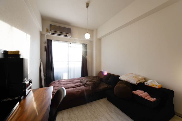 Private room in Shin-Osaka! Good access to Namba! - Osaka-shi, Higashiyodogawa-ku - Apartament