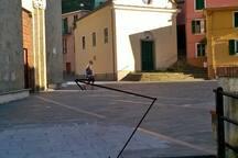 square church piazza della chiesa