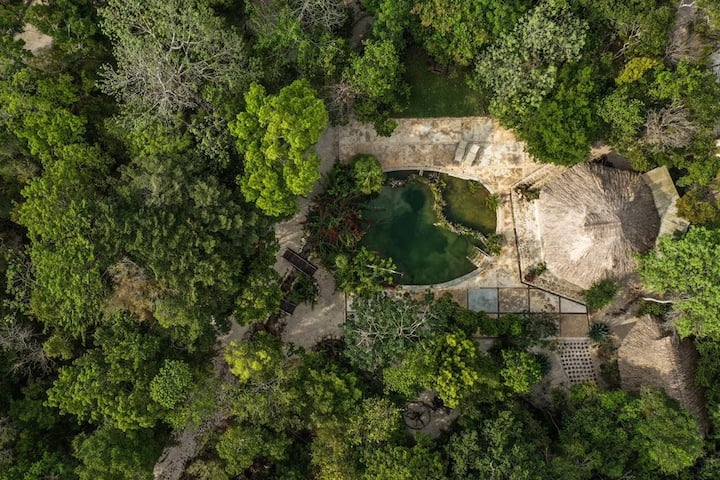 Nature & Amazing Bungalow in Ruta de los Cenotes