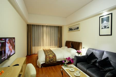 天河岗顶地铁A出口优众服务式公寓 - Guangzhou - Wohnung