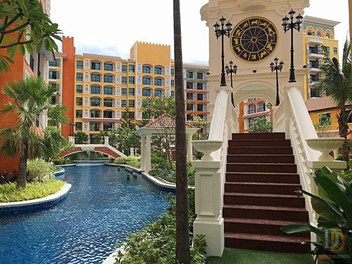 Venetian Signature Pattaya 2 bedrooms B711-712