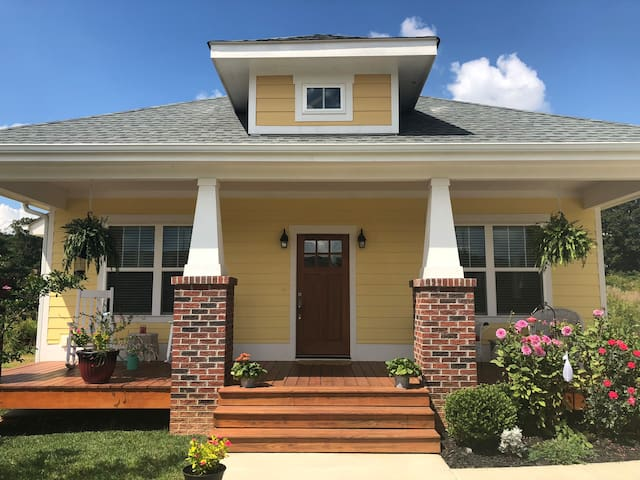 Charming New Arts & Crafts Home