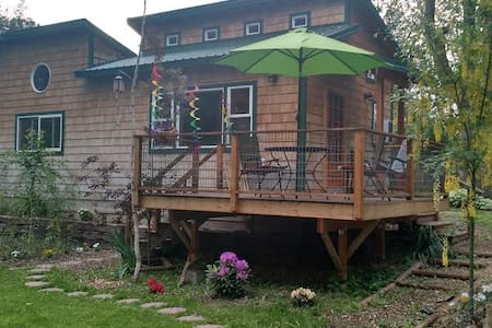 Lovely Okanogan River Cabin - Tonasket - 住宿加早餐