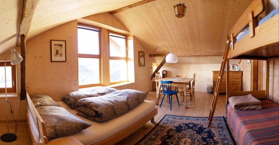 Zimmer für 4 - Panoramaausblick