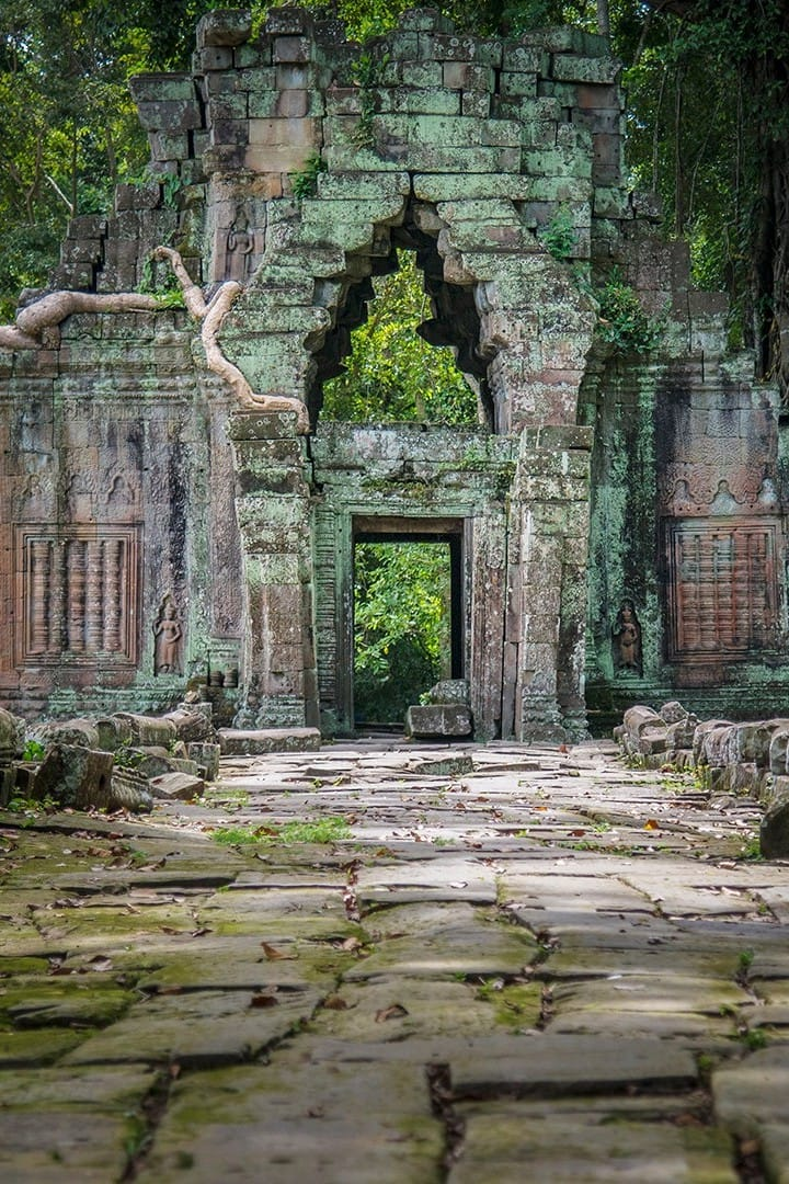 Gate of Bayon Temple