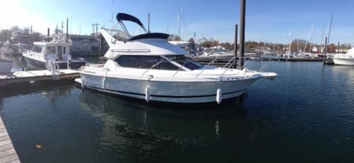=Luxury Romantic Yacht 8min to SFO=