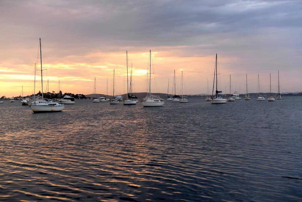 Nearby Lake Macquarie Yacht Club