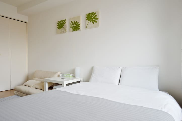Stay IN DOTONBORI, SHINSAIBASHI(Running man Glico) - Osaka - Apartamento