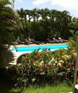 Chambre dans villa avec piscine + kitchenette - Pointe-à-Pitre