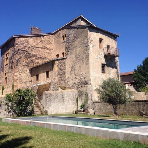 Séjour de charme au Château du Mas - Bessenay - Slott