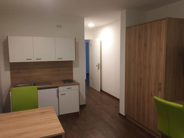 Charmantes 1 Zimmer Apartment im Münchner Norden - Unterföhring - เซอร์วิสอพาร์ทเมนท์
