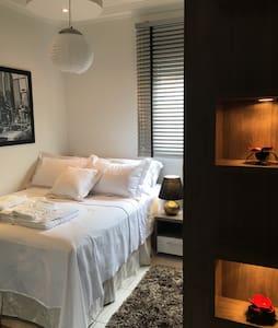 PERTO DE TUDO! Quarto moderno - Florianópolis - Apartment