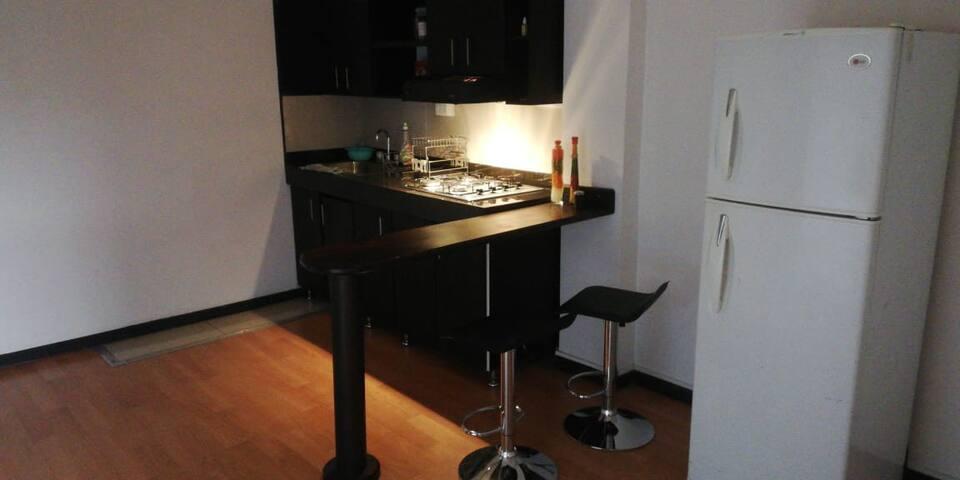 Hermoso apartamento amoblado en la mejor ubicación