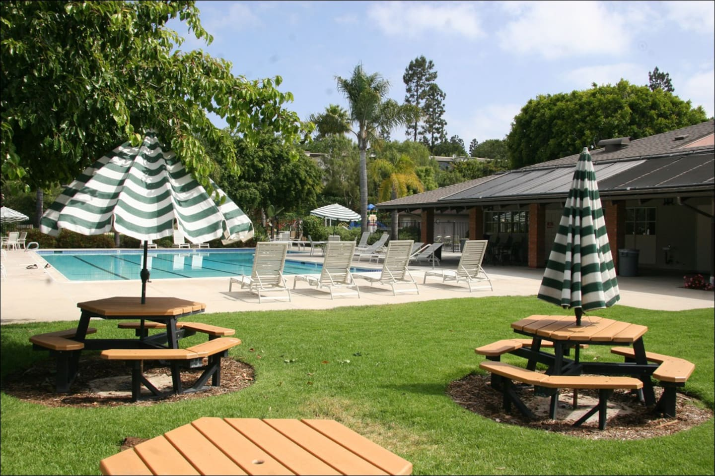 Pool Area - one of the clubhouse  features