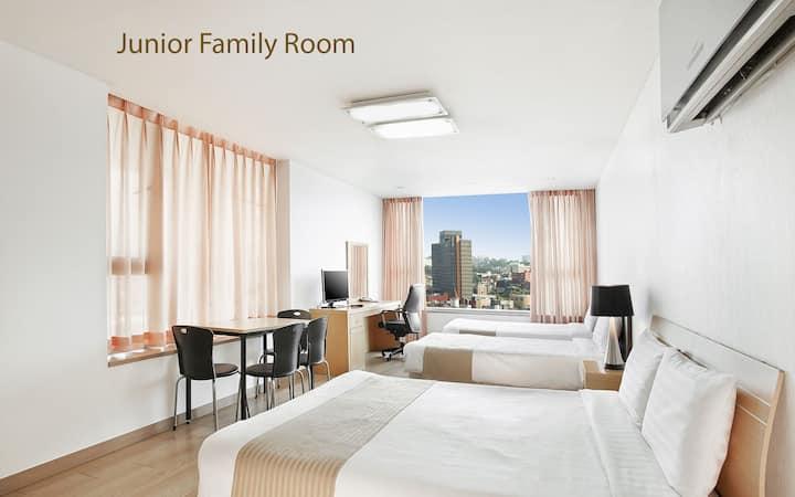 현대 레지던스 (Hyundai Residence) 장기 숙박 플랜 패밀리룸[4인]