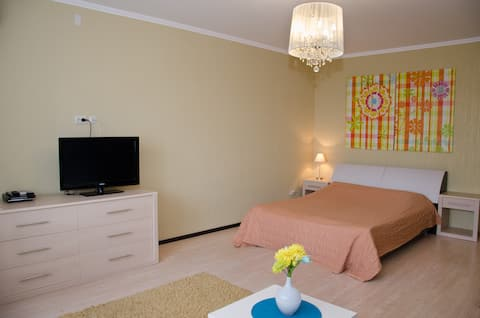 Квартира в центре города на пр. Победы 3, 11 этаж.