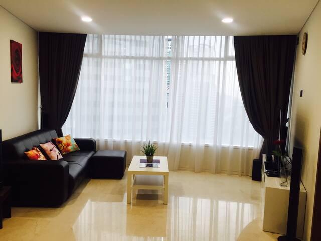 吉隆坡中心熱門住宿之一#三房兩浴室高級公寓 - Kuala Lumpur - Apartmen