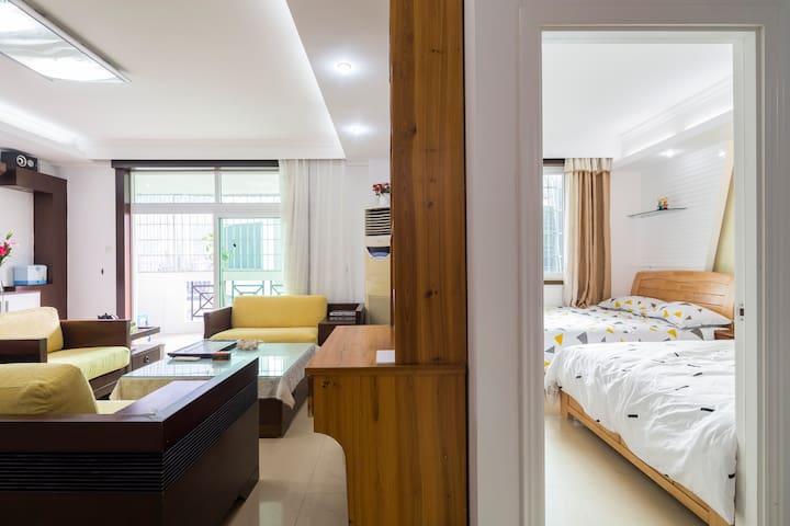 """厦门大学空中""""别墅""""全新装修海景独立房间出租 Remodeled Room with Seaview - Xiamen - Wohnung"""