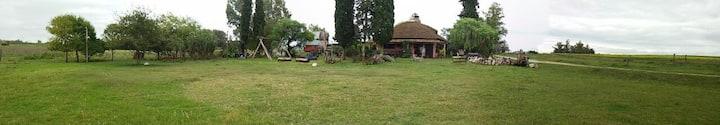 Cabaña compartida en el campo