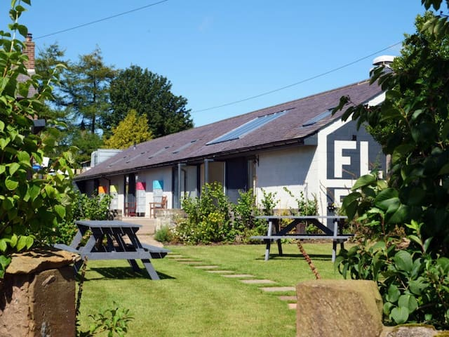 Florrie's B&B Bunkhouse directly on Hadrians Wall