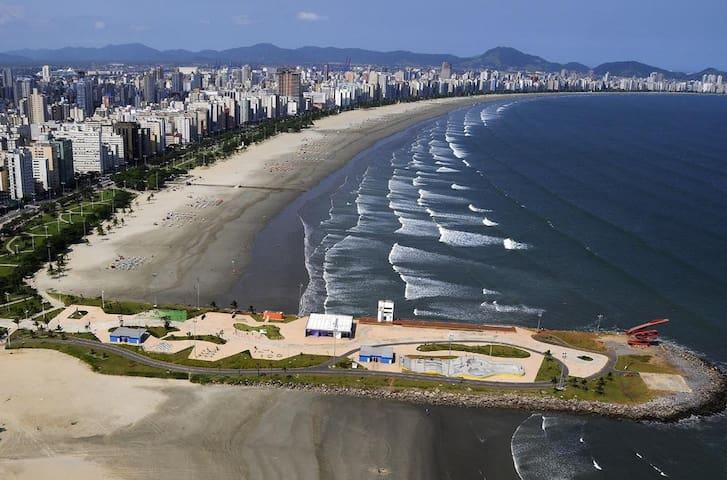 Apartamento a 200 m da praia!