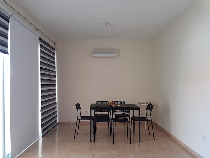 Quiet 1 bedroom apartment with large veranda
