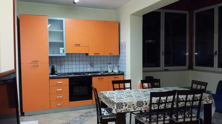 Casa Maria stanza bianca con aria condizionata