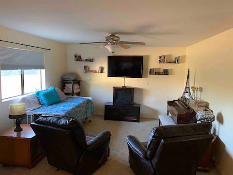 1 bdrm apartment on private residential property