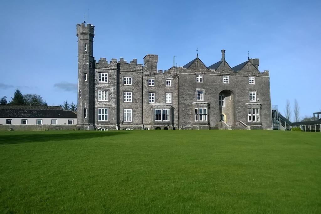 Donamon Castle (Just a short walk away)