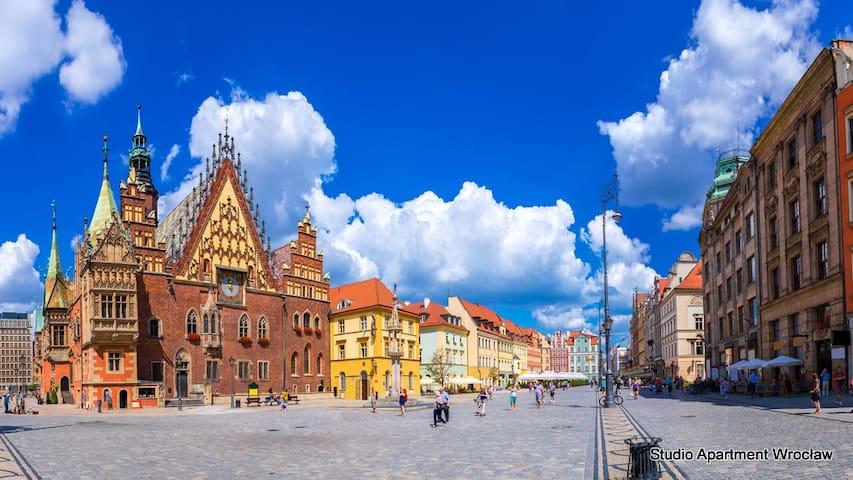 Studio Market Square - Wrocław
