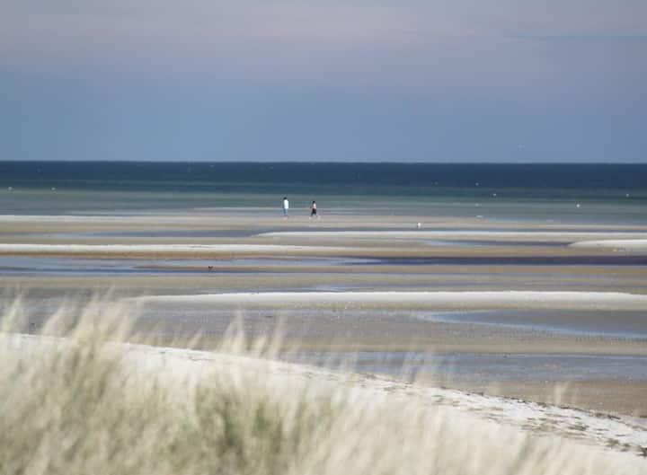 Hyggeligt, rart og bedste udsigt over Kattegat