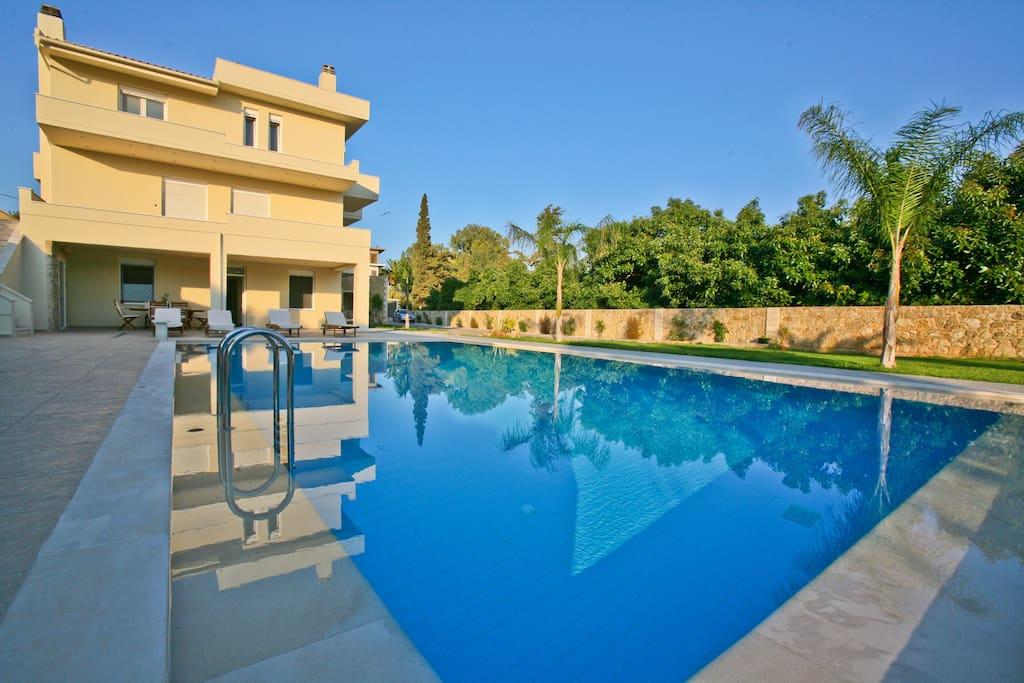 Felin Villa - Exterior - Private Pool