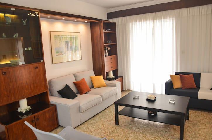 90 sq.m 2 Bedroom Apartment near Ixia beach