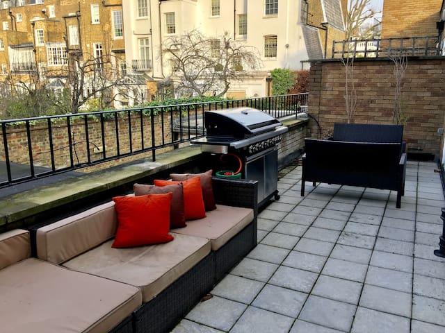 Luxury Apartment Terrace near Harrods