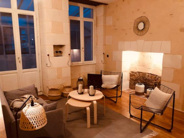 centre ville Poitiers, appartement au calme