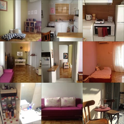 Lovely & Delicate centrally located apartment! - Thessaloniki - Apartment