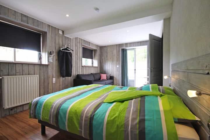 Chambre avec terasse privé