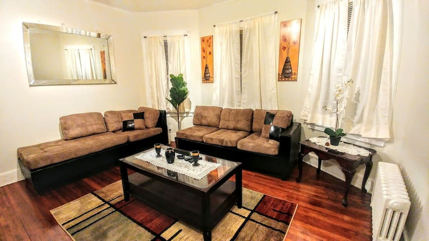 Spacious 3-BR. Perfect location Walk to NYC trains