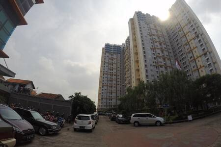 Studio Apartment in South Jakarta - Kebayoran Lama - Huoneisto